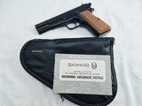1969 Browning Hi Power Ring Hammer New In Pouch