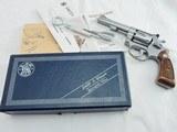 1980 Smith Wesson 63 Kit Gun Pinned NIB - 1 of 6