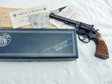 1971 Smith Wesson 17 K22 In The Box