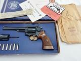"""1961 Smith Wesson 53 First Year 4 Screw NIB"""" Both Cylinders """""""