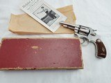 Smith Wesson 32 Hand Ejector Nickel I Frame In The Box