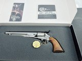 Colt 1860 Army Stainless 2nd Generation NIB