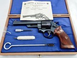 1964 Smith Wesson 57 41 Magnum In The Case - 1 of 11