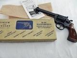1954 Smith Wesson Pre 17 K22 In The Box