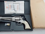 1994 Ruger Old Army Blackpowder Bright SS In The Box