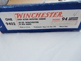 Winchester 94 30-30 Antique New In The Box Red White Blue - 2 of 9