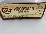 "1976 Colt Woodsman Match Target 6 NIB"" NEW IN BOX "" - 2 of 6"
