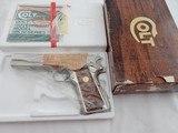 1981 Colt 1911 Nickel Series 70 45ACP NIB