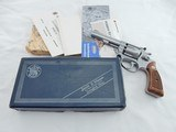 1979 Smith Wesson 63 Kit Gun In The Box Pinned