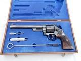 1961 Smith Wesson 29 No Dash 8 3/8 In The Case