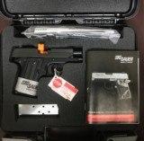 PERSONAL PROTECTION PACKAGE -SIG P238 + Remington 870 Home Defense Shotgun