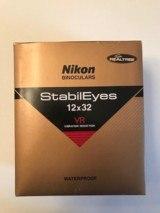 Nikon Binoculars StabilEyes 12 x 32 VR- Team RealTree - - PreOwned