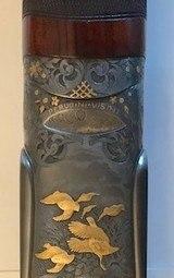 PERUGINI & VISINI-MAESTRO KENNEDY COMPETITION Model Engraved By Greco - 12 Ga.O/U - 12 of 13