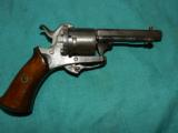 PIN FIRE REVOLVER 25 CAL. - 1 of 4