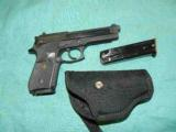 TAURUS PT 92 HOLSTER 2 MAGS 9MM - 1 of 4