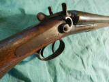 T. BARKER 12GA HAMMER SHOTGUN - 5 of 5
