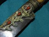 INDO PERSIAN IVORY Kindjal Dagger- 2 of 4