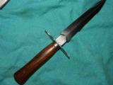 FRENCH WWI S.G. COMPANY TRENCH KNIFE - 1 of 3