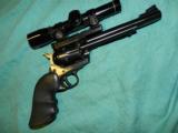 RUGER BLACKHAWK .357 LEUPOLD SCOPE - 1 of 7