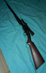 WINCHESTER MODEL 61 PUMP SCOPED - 2 of 6