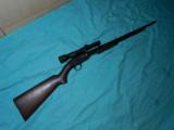 WINCHESTER MODEL 61 PUMP SCOPED - 1 of 6