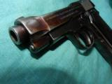 BERETTA 1934 MILTARY .380 WITH HOLSTER - 3 of 5