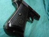 BERETTA 1934 MILTARY .380 WITH HOLSTER - 5 of 5