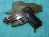 BERETTA 1934 MILTARY .380 WITH HOLSTER - 2 of 5