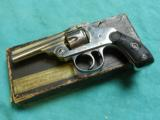 IVER JOHNSON TOP BREAK .32 S&W BOXED