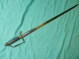 REV WAR 18TH CENTURY INFANTRY SWORD - 1 of 5