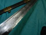 CIVIL WAR 1850 Staff & Field Officer Sword - 7 of 7