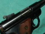 RUGER MKI GOV'T TARGET MODEL- 5 of 6