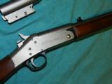 NEF HANDY GUN .22HORNET and 20ga. - 4 of 7