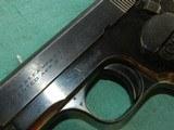 Very Fine Colt Model 1903 Pocket Hammerless Semi-Auto Pistol .32ACP - 5 of 11