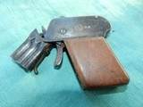 VINTAGE GERMAN TWO BARREL GAS GUN - 1 of 10
