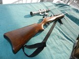Ruger Mini 14 Stainless Steel Ranch with Scope
