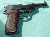 Mauser P38 BYF 43 Pistol 9mmm