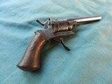 Civil War Belgian .30 cal Pinfire Revolver