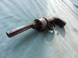 English 1840's Transitional D.A Revolver