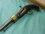French Percussion Military 1843 Pistol - 3 of 9