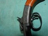 Ethan Allen Double Barrel Hammer Pistol - 9 of 10