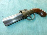 Pepperbox of .36 cal.with 4 barrels - 2 of 8