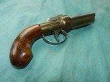 Pepperbox of .36 cal.with 4 barrels - 1 of 8