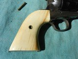 Colt SAA Natural pre-ban ivory grips