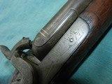 Civil War Hollis & Sheath Imported 10ga.Double - 3 of 12