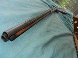 Civil War Hollis & Sheath Imported 10ga.Double - 9 of 12