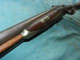 Civil War Hollis & Sheath Imported 10ga.Double - 10 of 12