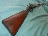 Civil War Hollis & Sheath Imported 10ga.Double - 1 of 12