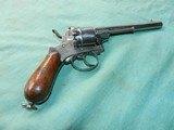 Civil War Lefaucheux D. A. Pinfire Revolver - 4 of 8