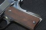 Extremely Rare Pre WW II Colt Government Model National Match w/RARE Swartz safety - 1 of 11